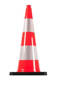Balisage chantier, cône de signalisation 75 cm